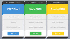 price plan design price plans archives svs pricing tables