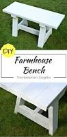 Diy Farmhouse Table And Bench Diy Farmhouse Bench For Small Tables The Handyman U0027s Daughter