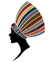 imagenes en negras silueta de negras africanas imágenes de archivo vectores silueta