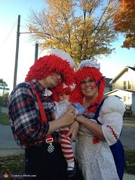 Raggedy Ann Andy Halloween Costumes Adults Raggedy Ann Family Costume Photo 2 2