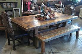 Dining Room Elegant Rustic Dining Table Pedestal Dining Table And - Rustic dining room tables