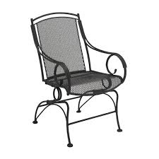 Black Wrought Iron Patio Furniture Sets Woodard Modesto Wrought Iron 5 Patio Dining Set