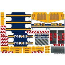 lego technic bucket wheel excavator lego technic 42055 bucket wheel excavator digger sticker sheet