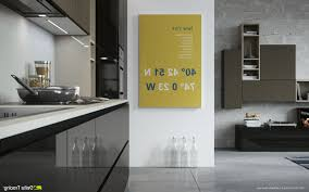 Kitchen Wall Units Designs by Kitchen Wall Unit Carcasses Shaped Island With Dark Countertop