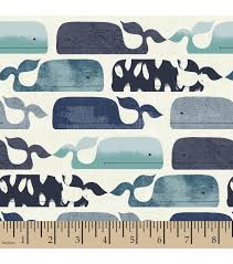 nursery fabric baby whale flannel baby whale nursery fabric and