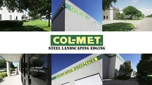 Steel Landscape Edging by Col Met Steel Landscape Edging Accessories Youtube