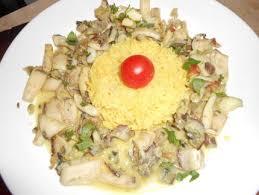 cuisiner la seiche fraiche fricassée de blancs de seiches au cidre recette blanc de