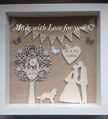 wedding gifts unique personalised wedding frame with pet dog or cat wedding gift