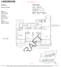 3 Bedroom Floor Plans by Forestwood Residences Floor Plan Brochure Forestwood Site Plan