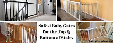 Best Stair Gate For Banisters Top Baby Gates For Stairs To Keep Your Baby Safe Babygatereviews Net