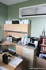 Home Design Before And After Home Office Makeover Before And After Setting For Four