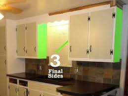 reface your kitchen cabinets 2 of 9 putting on the bottoms