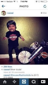 Halloween Costumes Biker Toddler
