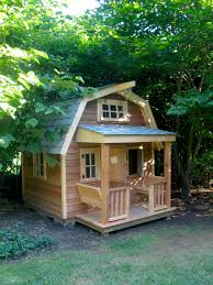 build this gambrel roof playhouse for your kids this summer and build this gambrel roof playhouse for your kids this summer and give