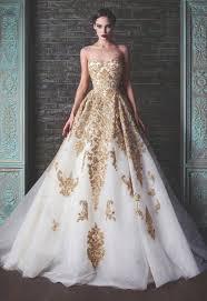 gold wedding dresses golden wedding dresses wedding corners