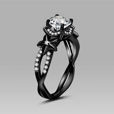 black wedding ring black wedding rings for wedding regal black diamond rings for