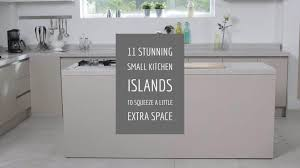 kitchen island space requirements 11 stunning small kitchen islands to squeeze a space