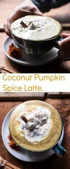 coconut pumpkin spice latte recipe latte coconut and coffee