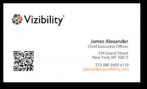 turn your printed business card into a digital bridge vizcard