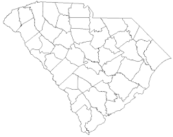 south carolina county map myonlinemaps sc maps