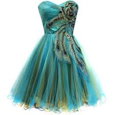 peacock turquoise dress green peacock prom dress peacock dress fashion