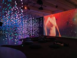 new museum light exhibit pixel forest ending this sunday at the new museum draws huge