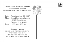 Open House Invitation Insurance Business Open House Invitations Help Plans