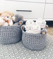 baskets for home decor crochet basket pattern crochet storage basket home decor crochet