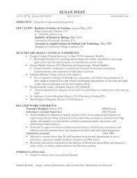 Sample Resume For Registered Nurse Position by Sample Nursing Resumes 2017 Free Resumes Tips