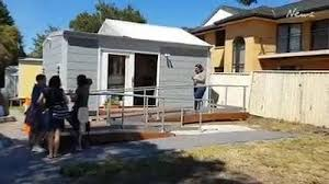 miniature homes charity group reveal their incredible mini homes in gosford