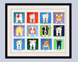 Prints For Kids Rooms by Cute Dog Wall Prints Dog Nursery Pictures Kids Wall Art Kids