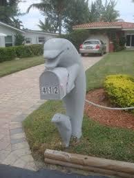 Nautical Themed Mailboxes - dolphin mailbox concrete statues pinterest concrete porch