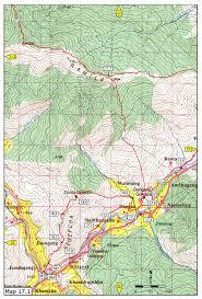 Rap Map Day Hikes Around Thimphu Maps