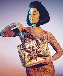 nicki minaj roberto cavalli fashion campaign images