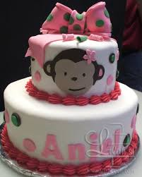 monkey baby shower cake lilah s bakery