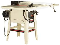 jet cabinet saw review midsize tablesaw jwts 10jf finewoodworking