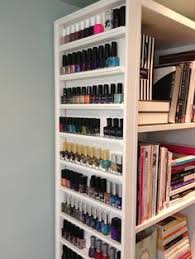 nail polish shelves in a frame for the home pinterest shelves