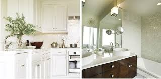 White Kitchen Backsplash Tile by Iridescent Glass Tile Kitchen Backsplash Tile Chip Size 4 5 X 4 5