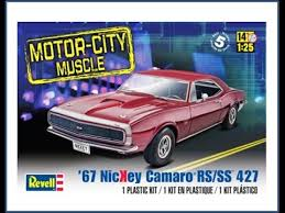 1967 camaro kit how to build the 1967 nickey camaro rs ss 427 1 25 scale revell