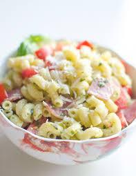 pesto pasta salad oh so delicioso