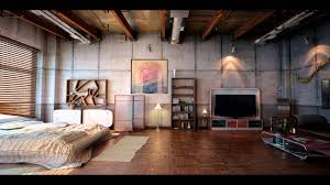 3 Stylish Industrial Inspired Loft Industrial Loft Youtube