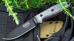 esee kitchen knives esee knives esee 4p plain edge coyote brown sheath clip plate
