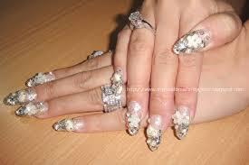 oval nail designs nail art