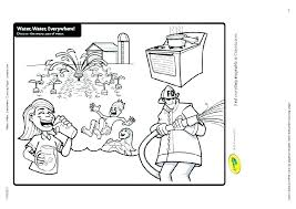 coloring pages water safety preschool water safety coloring sheets water coloring page