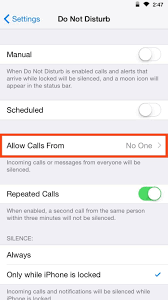 customize u201cdo not disturb u201d on your iphone so important calls