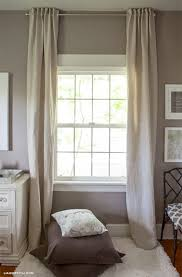 Curtain Draping Ideas Back Tab Curtains
