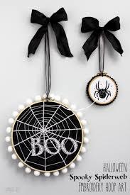 halloween cloth diapers halloween spooky spiderweb embroidery hoop art see vanessa craft