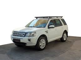 land rover freelander 2000 land rover freelander 2 slimline ii roof rack kit by front