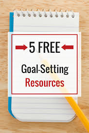 Setting Smart Goals Worksheet Learn How To Set Goals With These Five Free Goal Setting Resources