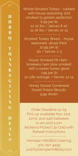 hhbbq thanksgiving deals order today limited quantities hempen